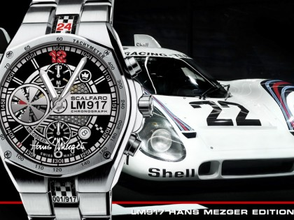 SCALFARO LAUNCHES LM917 HANS MEZGER EDITION – THE WORLD'S FIRST AIR-COOLED CHRONOGRAPH